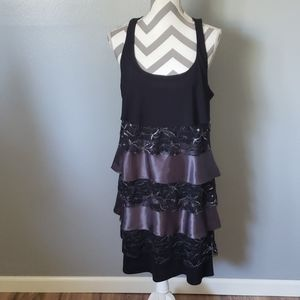 Tiana B layered Dress